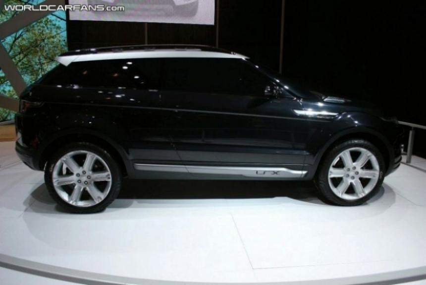 Range Rover LRX a producción