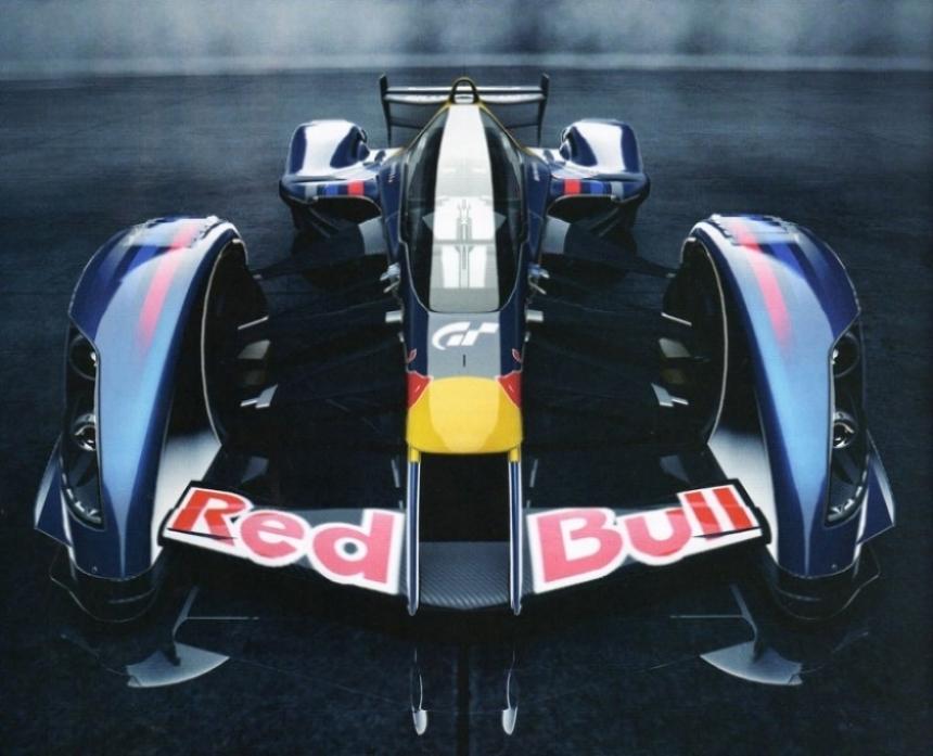Red Bull X1 revelado en el Gran Turismo 5