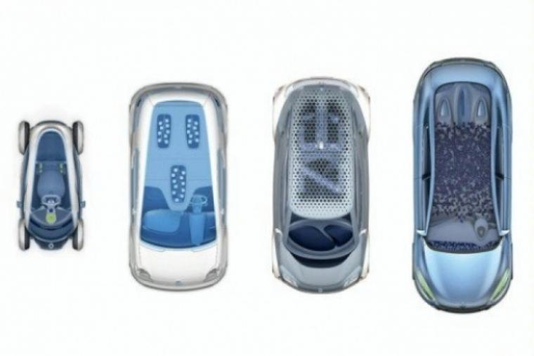 Renault mostrará cuatro teasers de modelos híbridos.