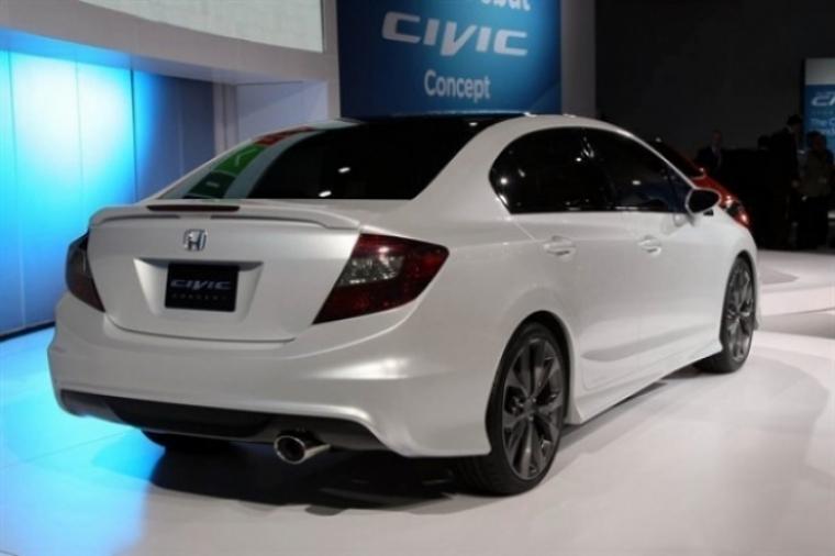 Salón de Detroit, nuevo Honda Civic presentado
