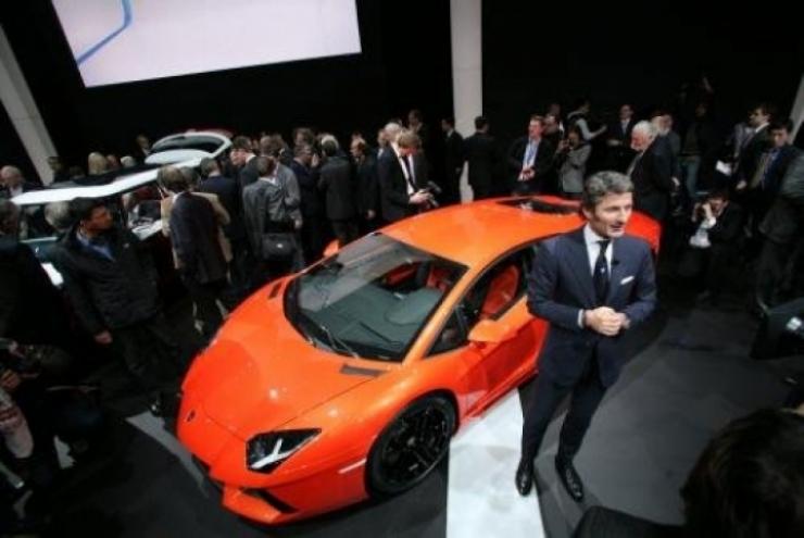 Salón de Ginebra 2011, el Lamborghini Aventador debuta ante el gran público