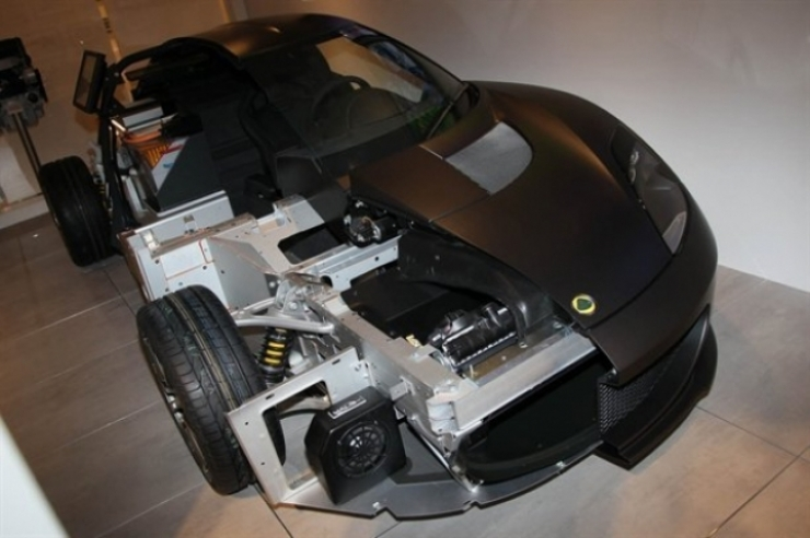 Salón de Ginebra 2011, Lotus muestra su tecnología híbrida.