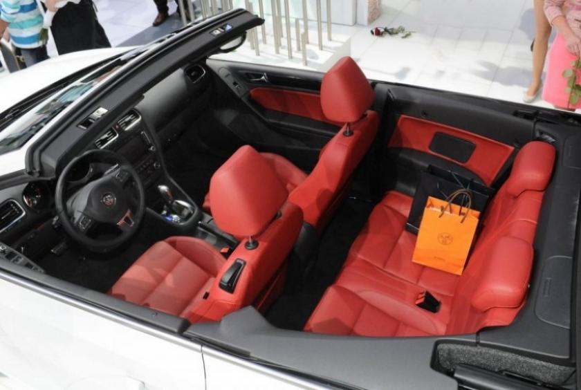 Salón de Ginebra 2011, Volkswagen presentó oficialmente al Golf Cabrio