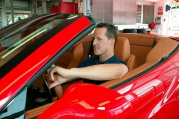Schumacher visitó a Massa en el hospital