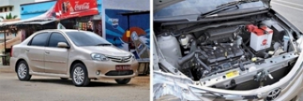 Se filtran las fotos del Toyota Etios de producción