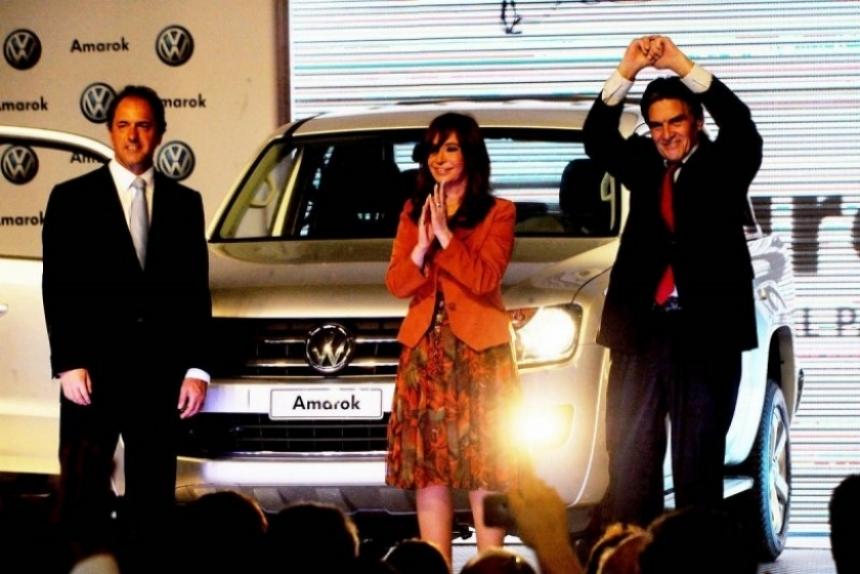 Se presentó en Argentina la VW Amarok.