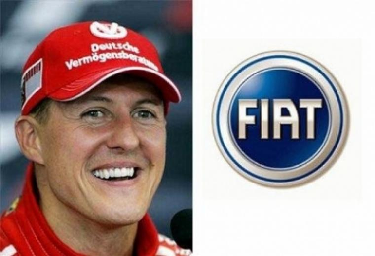 Spot publicitario de Schumacher para Fiat Palio
