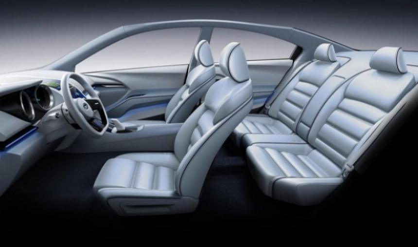 Subaru adelantó al nuevo Impreza en el Salón de Los Ángeles.
