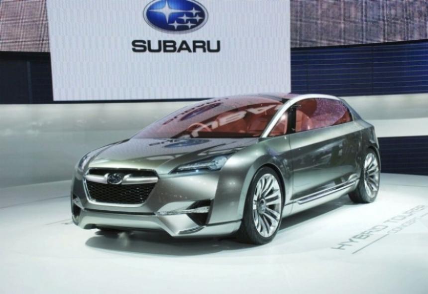 Tourer, la resurrección del Subaru SVX en acción