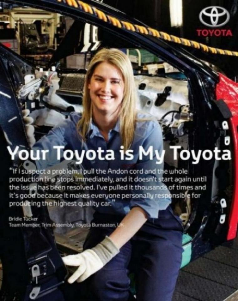 Toyota lanza campaña europea para recuperar credibilidad y confianza