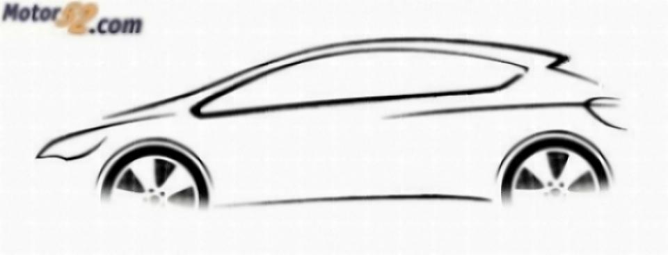 Trazos del próximo Opel Astra 2009