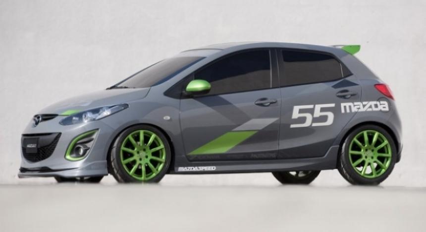 Trio de concepts para el Mazda2.