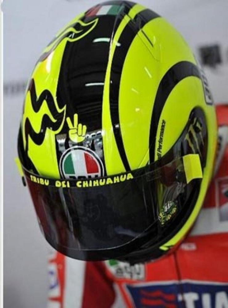 Valentino Rossi preocupado con la Ducati