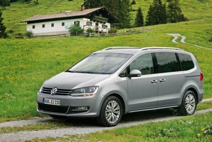 Volkswagen amplía la gama del Sharan