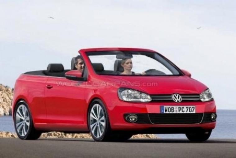 Volkswagen Golf cabrio comienza su producción en 2011