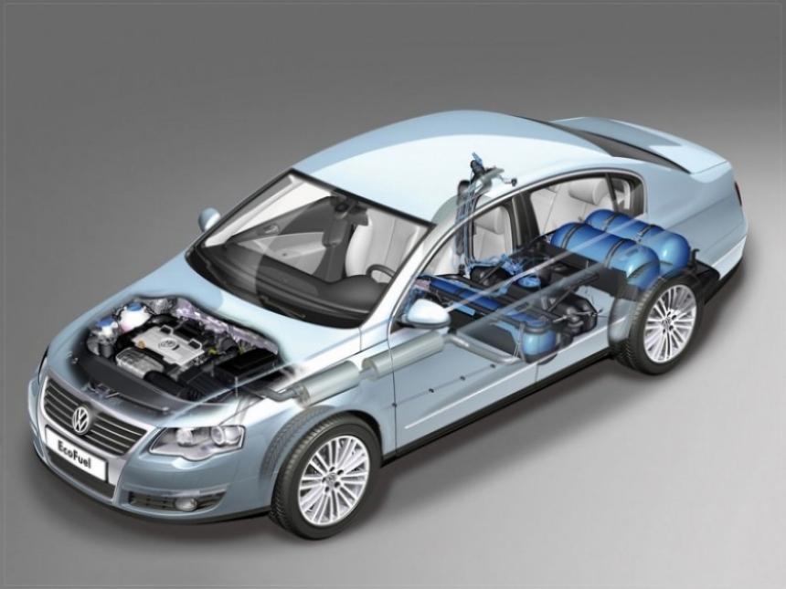 Volkswagen Passat 1.4 TSI EcoFuel, el coche más limpio