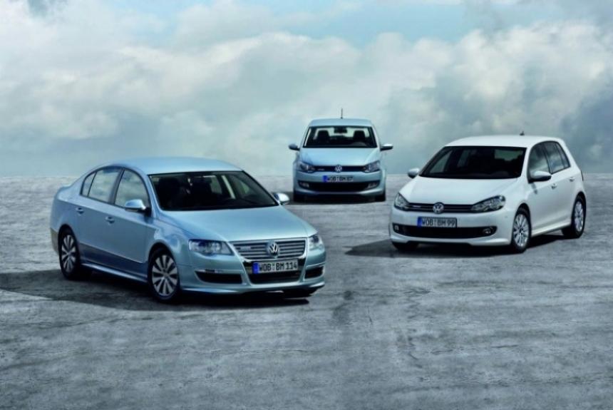 Volkswagen Polo, Passat y Golf BlueMotion se presentan en Frankfurt y a la venta en otoño