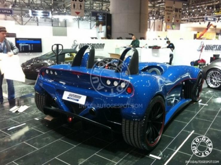 Weismann Roadster Concept para Ginebra 2011