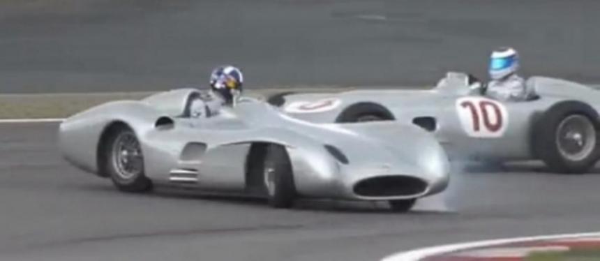 Coulthard y Hakkinen a bordo de las Flecha de Plata