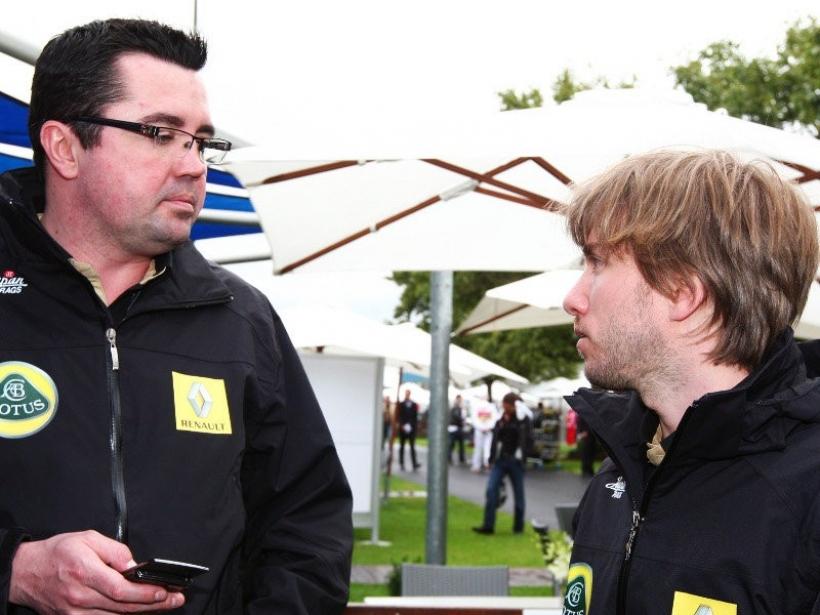 Boullier critica a Heidfeld