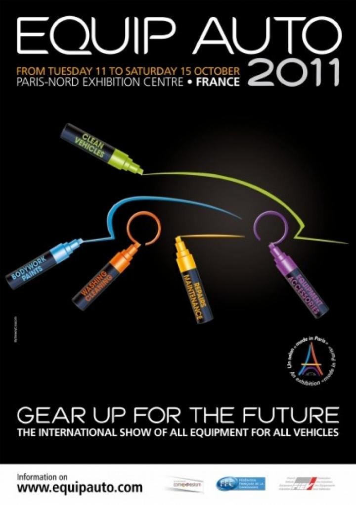 El Equip Auto 2011 tendrá lugar en el Parque de Exposiciones París Nord Villepinte en octubre