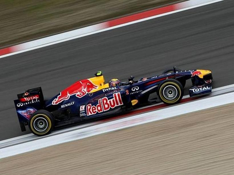 GP Alemania 2011, Libres 2, Webber logra el mejor tiempo, Alonso queda segundo