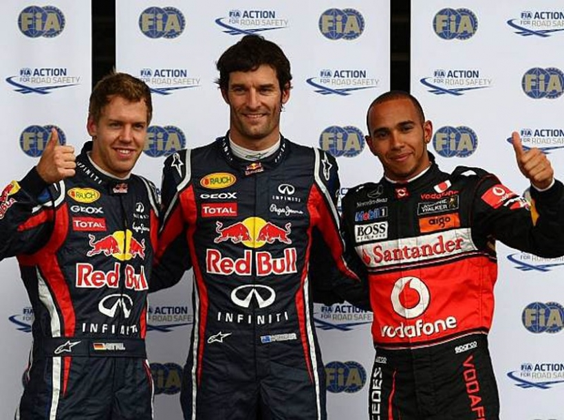 GP Alemania 2011: pole para Mark Webber, Alonso solo cuarto