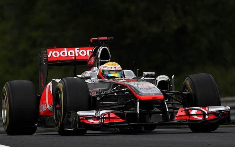 GP Hungría 2011, Libres 2: Hamilton repite mejor tiempo