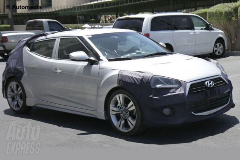Hyundai prepara una versión deportiva del Veloster