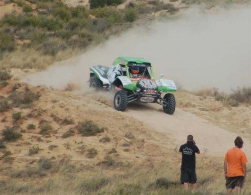 McRae prepara un Buggy eléctrico para el Dakar 2012
