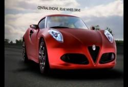 El Alfa Romeo 4C se muestra en nuevo video promocional