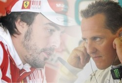 Alonso apoya a Schumacher: Si él tuviera un buen coche
