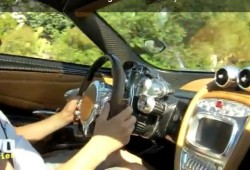 Así respira y suena el motor V12 AMG que monta el Pagani Huayra