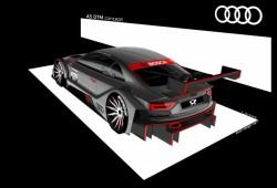 Audi muestra las primeras imágenes del A5 DTM Concept