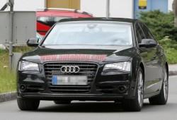 Fotos espía del Audi S8 2012 sin camuflaje