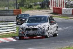 Fotos espía del BMW Serie 3 (F30) rodando por Nürburgring