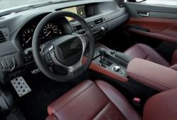 Fotos espía del interior del Lexus GS 2012