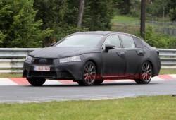 Fotos espía del Lexus GS 2012