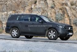 Fotos espía del Mercedes-Benz GL 2012