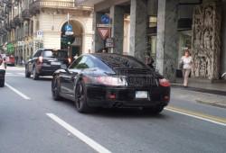 Nuevas fotos espía del Porsche 911 2012