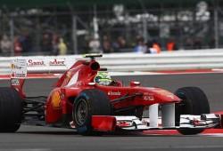 GP Gran Bretaña 2011, Libres 2: Massa, el más rápido