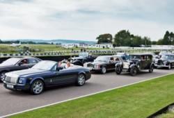 Histórico encuentro de Rolls Royce festejando centenario del Espíritu del Éxtasis