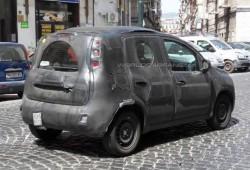Fotos espía del Fiat Panda 2012