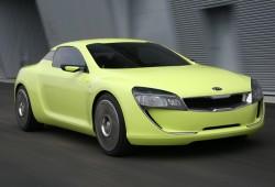 Kia prepara un coupé V8 de propulsión trasera