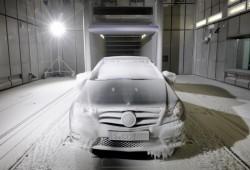 Mercedes Benz inaugura un túnel climático para testear sus modelos