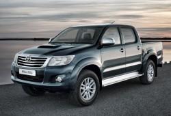 Precios para Reino Unido del nuevo Toyota Hilux 2012