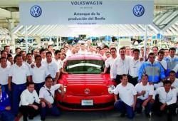 Se inicia la producción en serie del nuevo Volkswagen Beetle