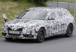 Últimas fotos espía del Audi A4 2012