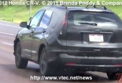 Vídeo espía: Honda CR-V 2012