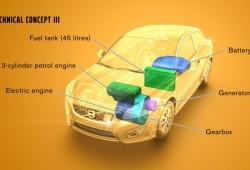 Volvo desarrollará tres nuevos conceps híbridos de autonomía extendida